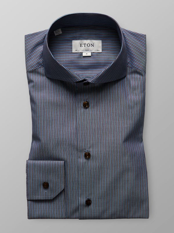 Multi Striped Twill Shirt