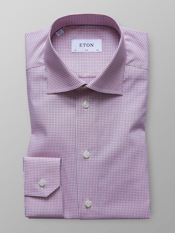Pink Checked Shirt