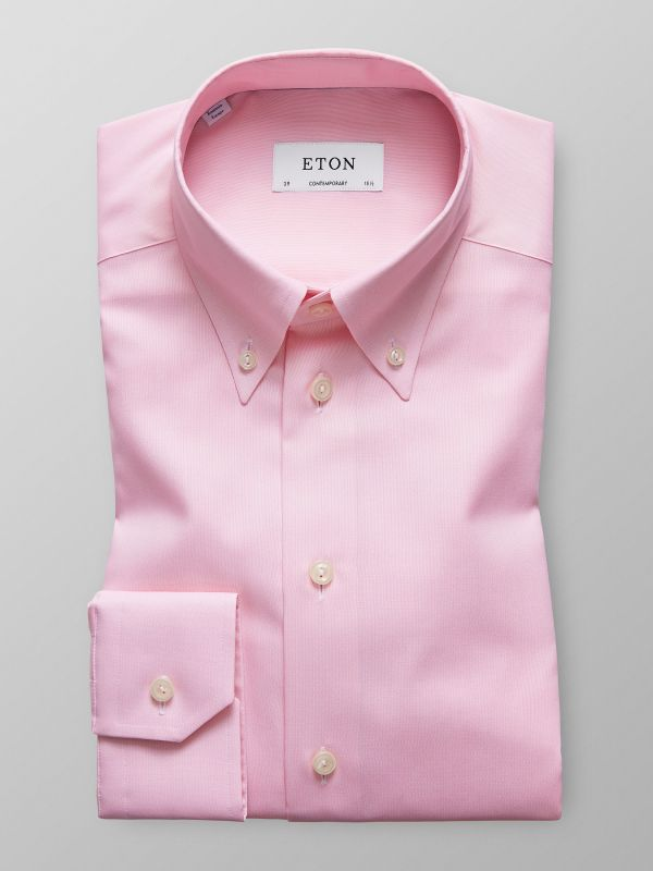 Pink Pinpoint Oxford Shirt