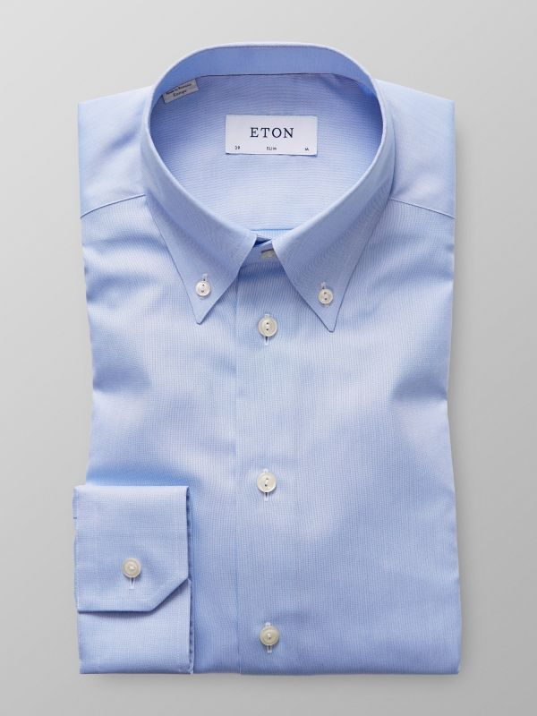 Light Blue Pinpoint Oxford Shirt