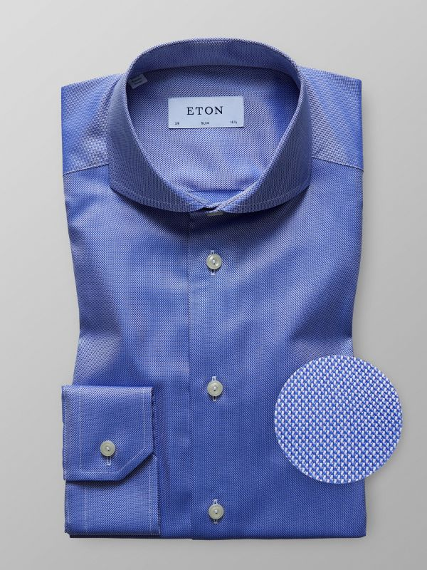 Deep Blue Oxford Shirt