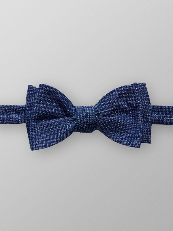 Checked Cotton Bow Tie