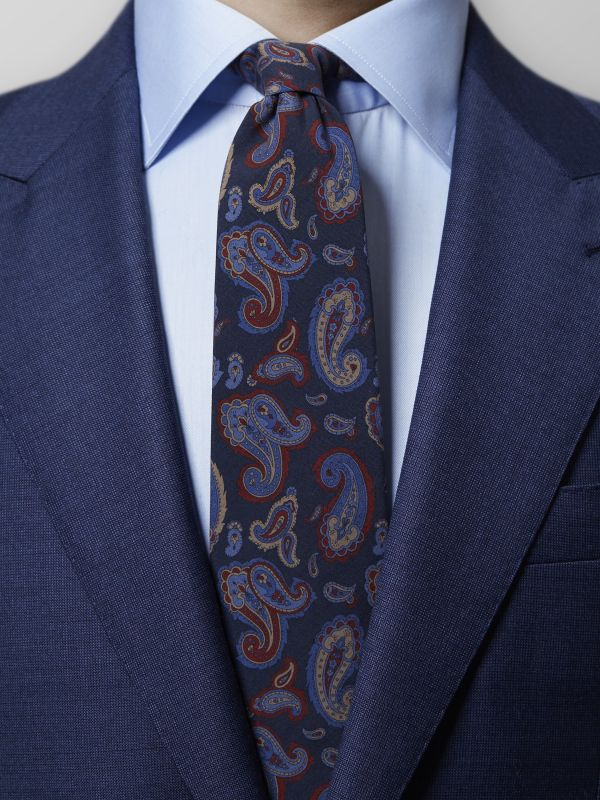 Blue Madder Paisley Tie