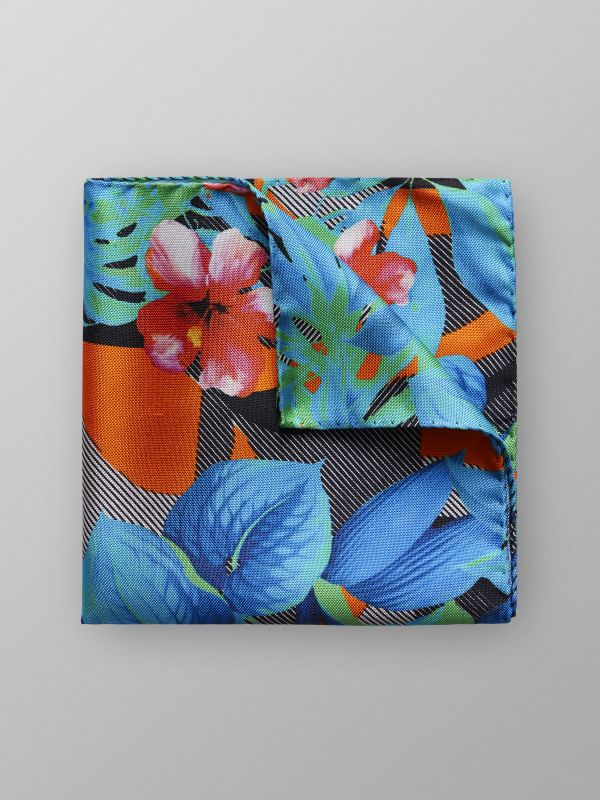 Jungle Print Pocket Square