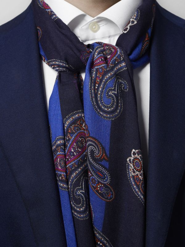 Paisley Modal & Wool Scarf