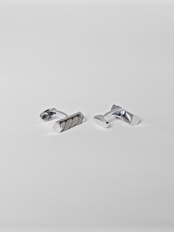 Steel Wire Cufflinks