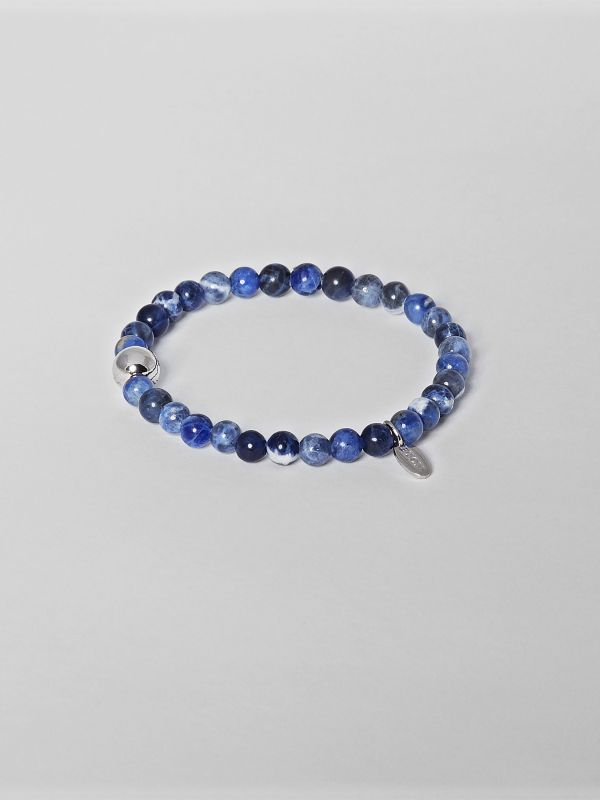 Blue Earth Semi-precious Stone Bracelet