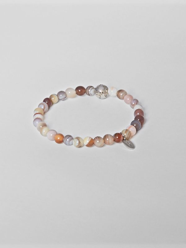 Brown Earth Semi-precious Stone Bracelet