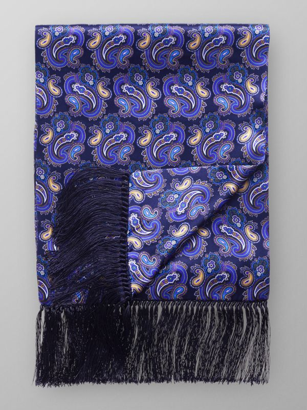 Luxurious Paisley Silk Scarf