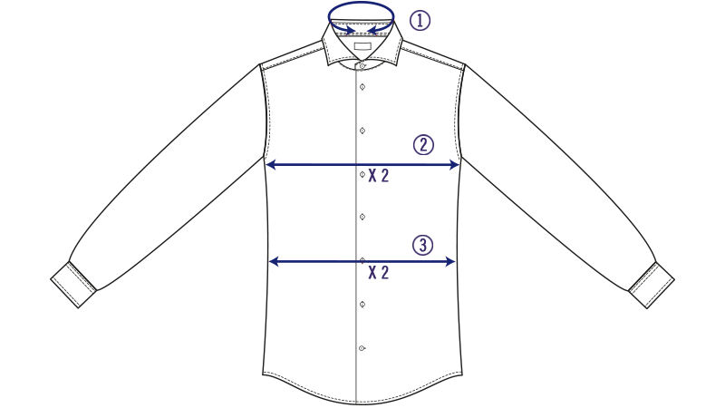 Size Guide | Eton Shirts US