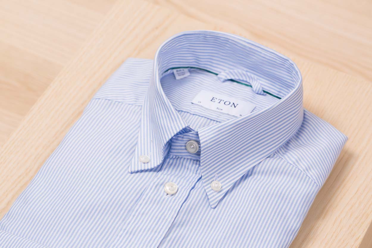 search for clearance reputation first top-rated original The Anatomy of the Eton Oxford Button-Down | Eton Shirts Canada